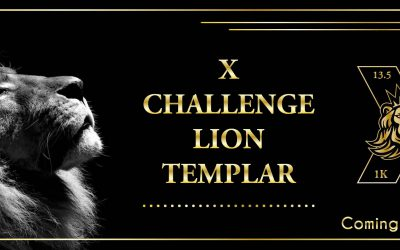 """X Challenge """"Lion Templar Medal"""" Special Edition"""