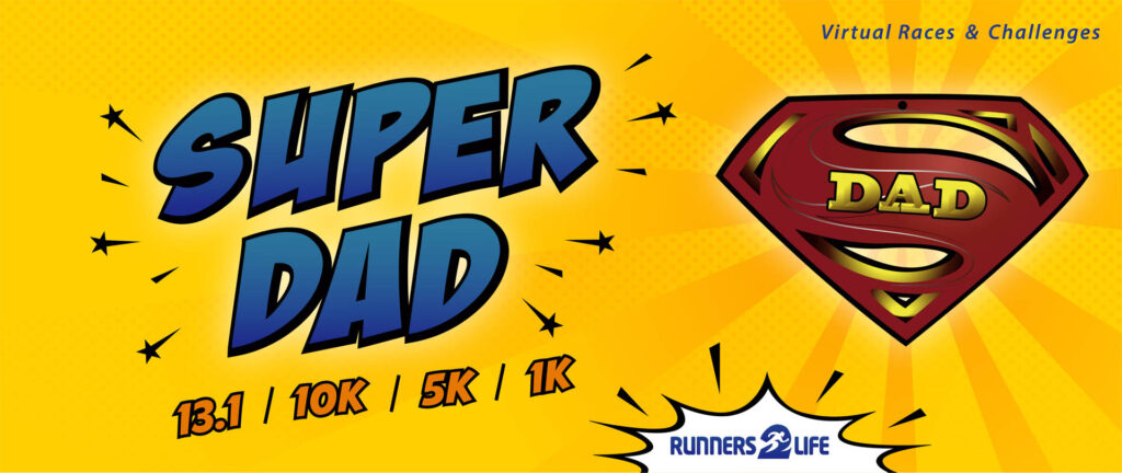 super dad race banner