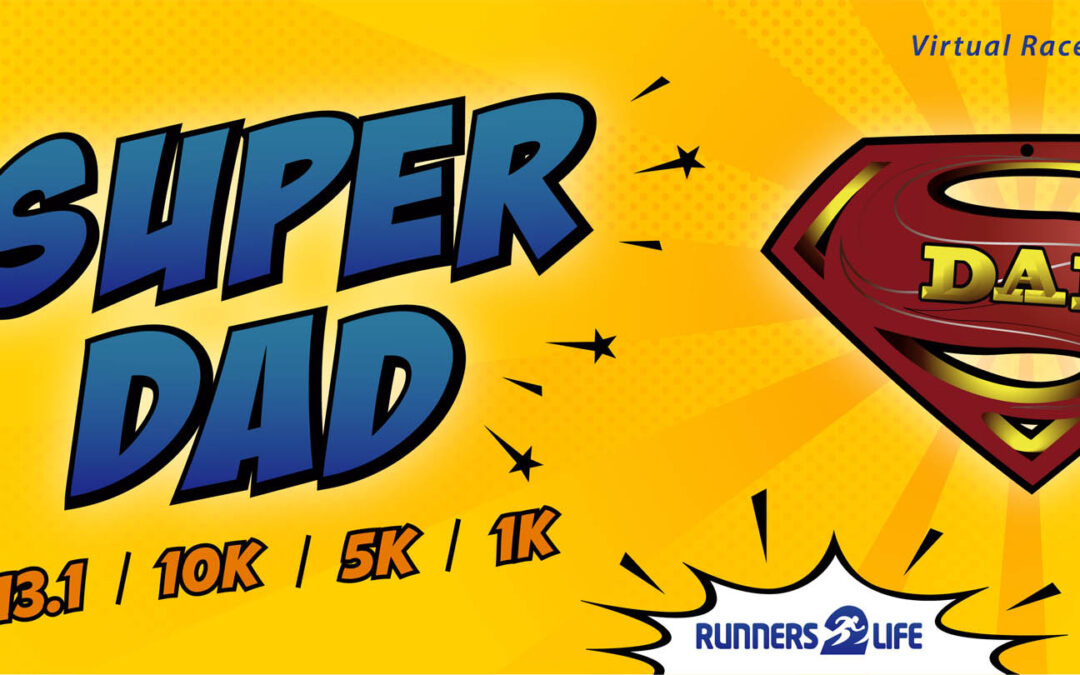 super dad race banner